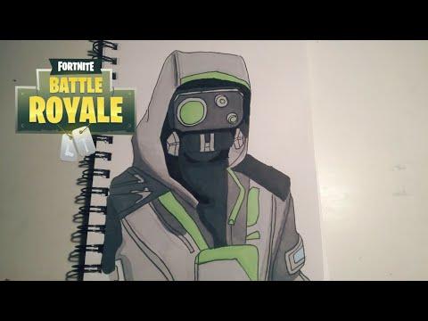 Fortnite Battle Royale Archetype Skin Speed Drawing Netlab