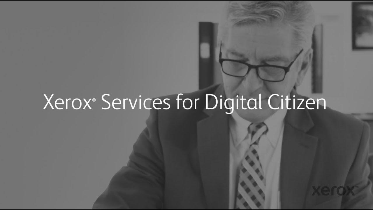 Xerox® Services for Digital Citizen YouTube Videosu