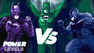 This is the Best Batman to Take Down Joker!   Power Levels