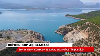 DSİ Genel Müdürü Mevlüt Aydın: Konya'yı su yapıları ile ihya ettik