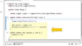 6 minute SLF4J tutorial for the beginner (2013-06)