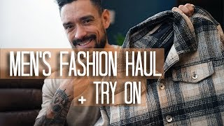 MEN'S WINTER FASHION HAUL + TRY ON | ZARA MAN