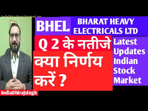 BHEL SHARE  Q 2 RESULTS  LATEST UPDATES INDIAN STOCK MARKET | WHAT WILL BE  NEXT TARGET  OF BHEL ?