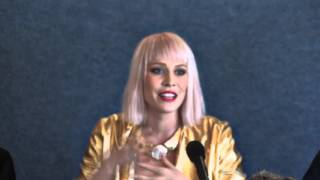Natasha Bedingfield Press Conference Love Song To The Earth