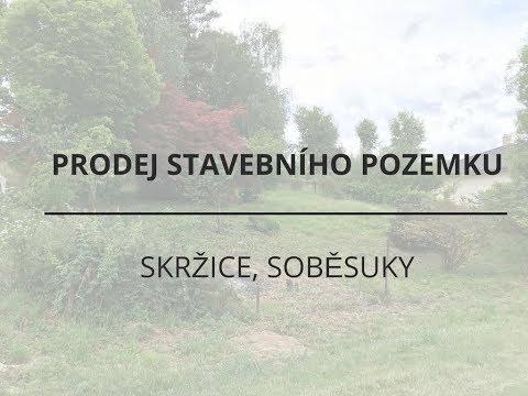 Prodej stavebního pozemku 804 m2, Soběsuky