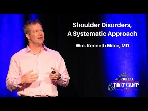 Shoulder Disorders, A Systematic Approach | The EM Boot Camp Course