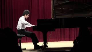 Carl Czerny: Etude Op.299 no.39 ( 13 yrs old )