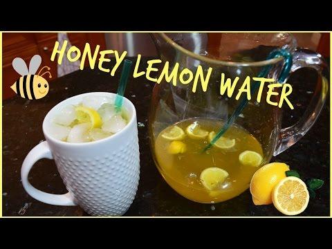 Video Honey Lemon Water Recipe