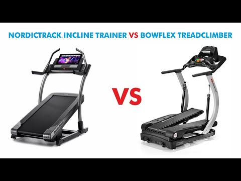 Nordictrack Incline Trainer vs Bowflex Treadclimber - Which is Best For You?