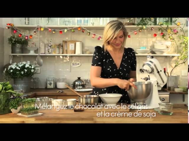 La mousse au chocolat Minceur D'Angèle pour ELLE CUISINE
