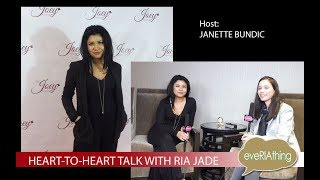Ria Jade: Heart-To-Heart Interview Hosted by Janette Bundic
