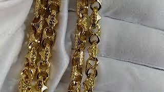 Золотая цепочка плетение Краб Большой  вес 120гр., жёлтое золото 585 пробы,  ширина a1191b52ba9