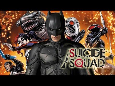 Бэтмен снимается в «Suicide Squad»