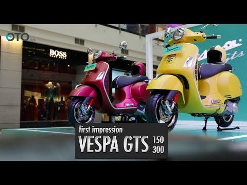First Impession Vespa GTS 150 dan 300