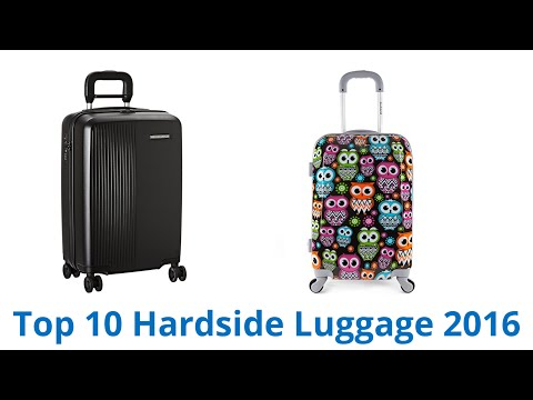 10 Best Hardside Luggage 2016