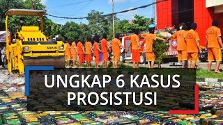 Selama Bulan Ramadhan Polres Bogor Ungkap 6 Kasus Prostitusi, 65 Alat Kontrasepsi Jadi Barang Bukti