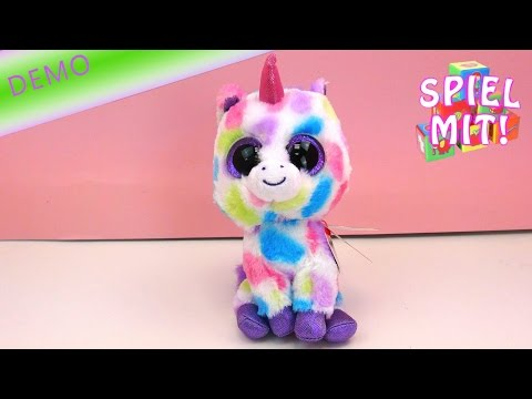 ty beanie boos deutsch - Glubschi Einhorn Wishful Review