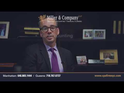 Tax Accountant NYC - New York CPA Firm - Miller & Company LLP