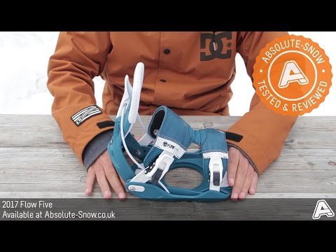2016 / 2017 | Flow Five Snowboard Bindings | Video Review