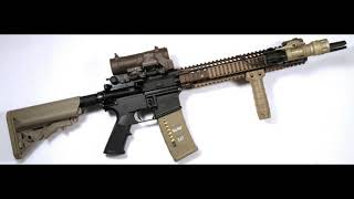 Real Gun Sounds-U.S.  Special Forces. ASMR.