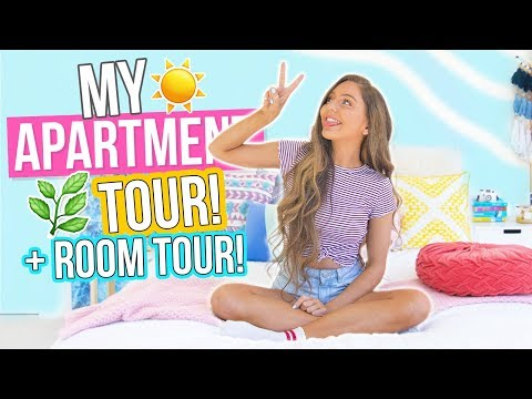 FULL APARTMENT TOUR + ROOM TOUR! House Tour 2017!