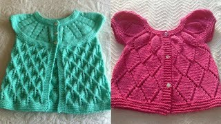 Beautiful 😍 And Stylish Hand Crochet Baby Sweaters Designs
