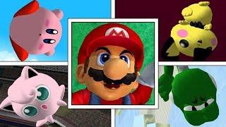 Star KO + Screen KO | All Characters | Super Smash Bros Melee | High Quality 1080p 60FPS