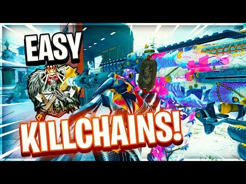 i DROPPED 110+ KILLS AND A KILLCHAIN WITH A GUN I'VE NEVER USED.... (BLACK OPS 4) *MUST WATCH*