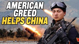 American Greed Helps China's Military Rise | China Uncensored thumbnail