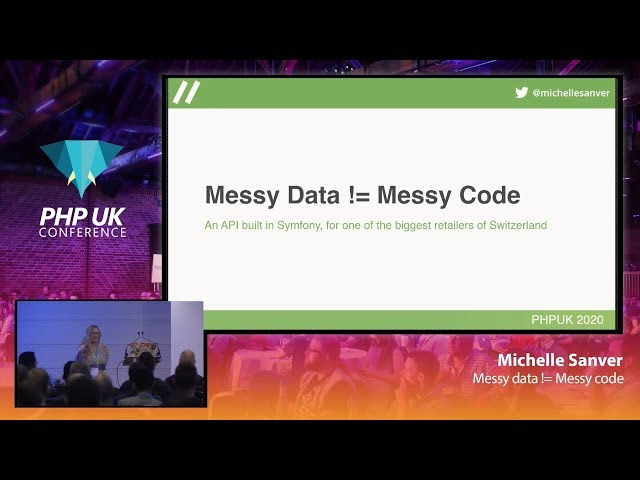 Messy data != Messy code