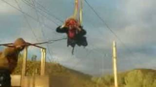 preview picture of video 'Zipline Flying, Sonora, CA'
