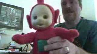 What is this TeleTubby Saying?