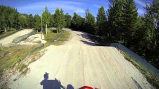 preview picture of video 'Kiviõli Quad MX track GoPro course preview'