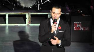Darius Campbell singing Fly Me To The Moon