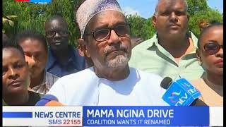Okoa Mombasa petition county assembly to rename Mama Ngina water front to reflect cultural heritage