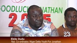 Niger Delta Youth For Jonathan Appeal T NUT