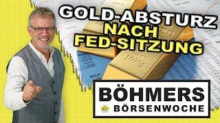 War der Gold-Absturz nach der Fed-Sitzung nur eine Überreaktion?