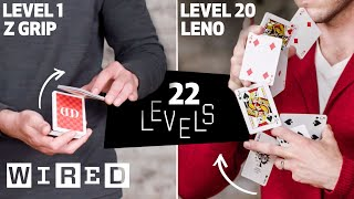 22 Levels of Card Juggling: Easy to Complex | WIRED