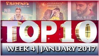 Top 10 Punjabi Songs of 4th Week of January | Channel Punjabi Beats