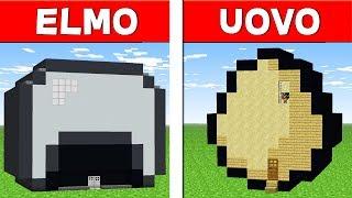 CASA UOVO VS CASA ELMO - Minecraft ITA