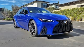 2021 Lexus IS350 F Sport Walkaround + Exhaust (No Talking)(ASMR) by MilesPerHr
