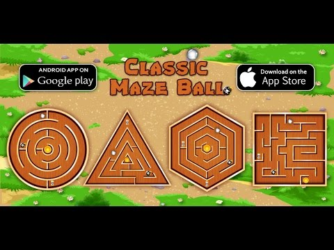 Classic Maze Ball - Unity Game