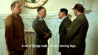 Hitler wants Himmler to walk the bed