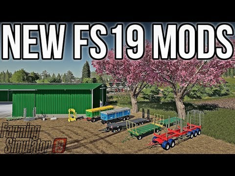 NEW JOHN DEERE LOGGING MOD + LOTS OF NEW & UPDATED MODS FOR