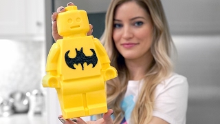 How to make LEGO Candy - LEGO Batman Minifigure!