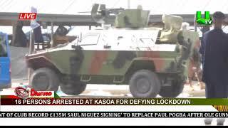 16 persons arrested at Kasoa for defying lockdown | UTV Ghana Online