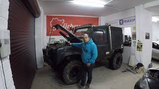 land rover defender 110 engine swap - TH-Clip