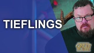 The Tiefling Race - DnD Race Spotlight - Player Character Tips
