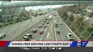 Cell phone use while driving becomes illegal in a week