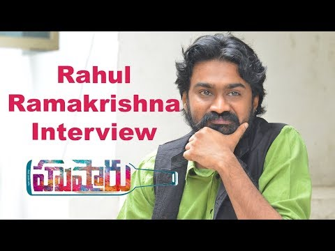 rahul-ramakrishna-interview-about-husharu